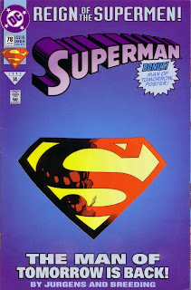 Cover of Superman #78 from DC Comics
