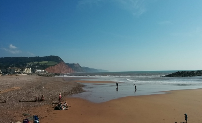 Sidmouth Beach Exeter