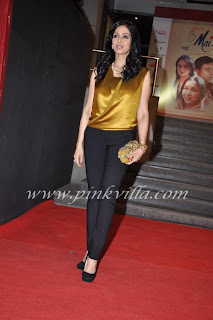 Sridevi at the Premiere of 'Mai'