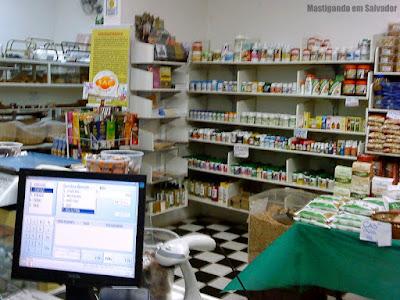 Restaurante Grão de Arroz: Loja de produtos naturais