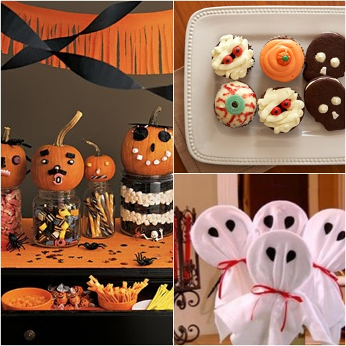 Decoracion Halloween Infantil ~   PARA NI?OS  HALLOWEEN PARTY IDEAS  DECORACION EN FIESTAS INFANTILES