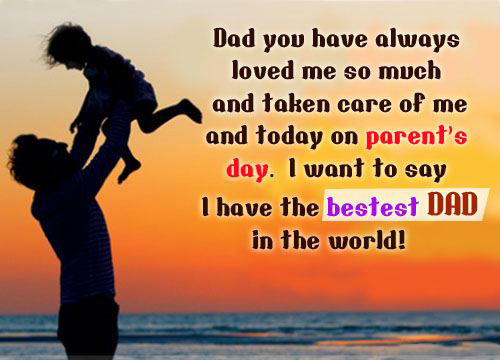 Great Quote For Dad On The Day Of Parents