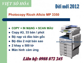 ban may photocopy ricoh hai phong