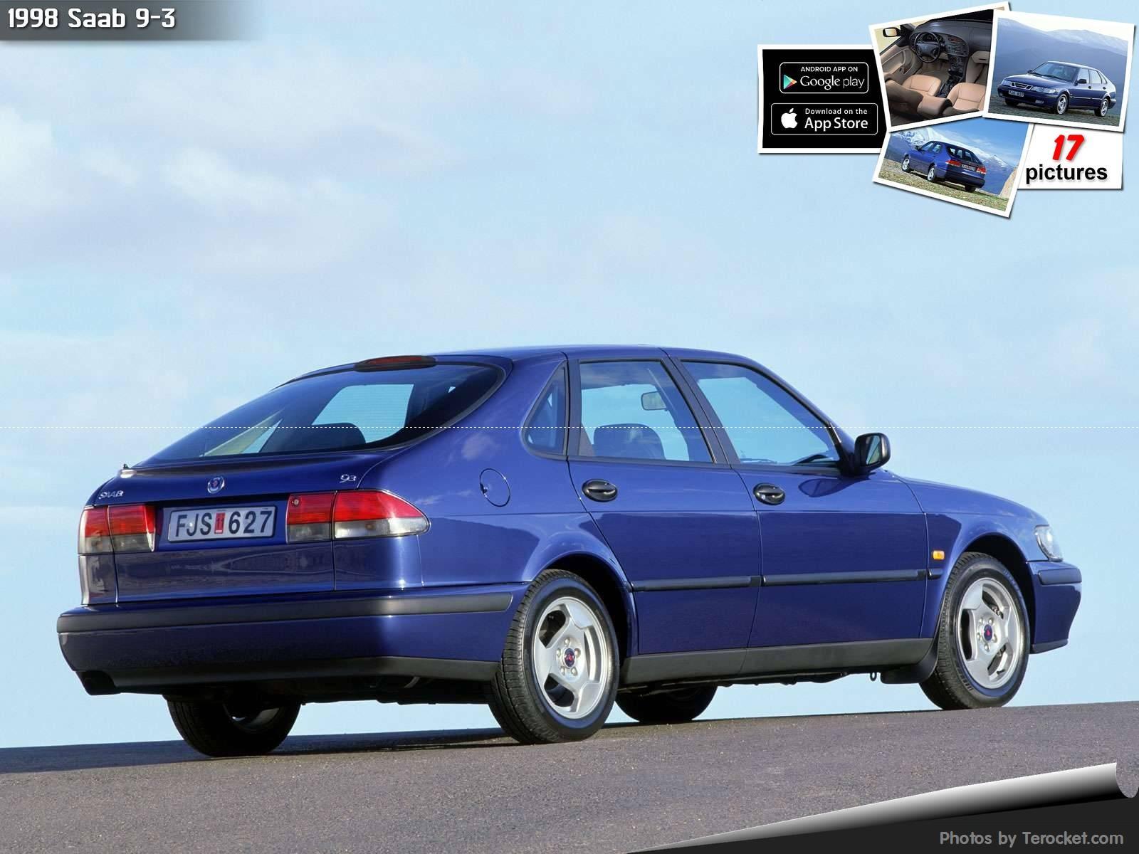 Hình ảnh xe ô tô Saab 9-3 1998 & nội ngoại thất