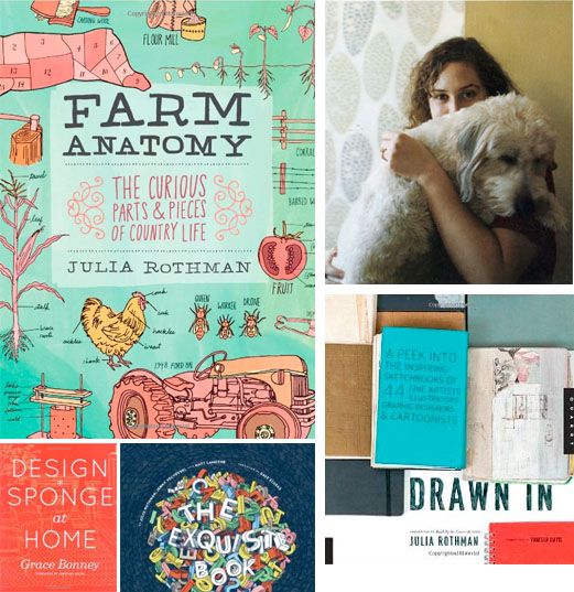 Growing with plants: Book Giveaway - FARM ANATOMY by Julia Rothman
