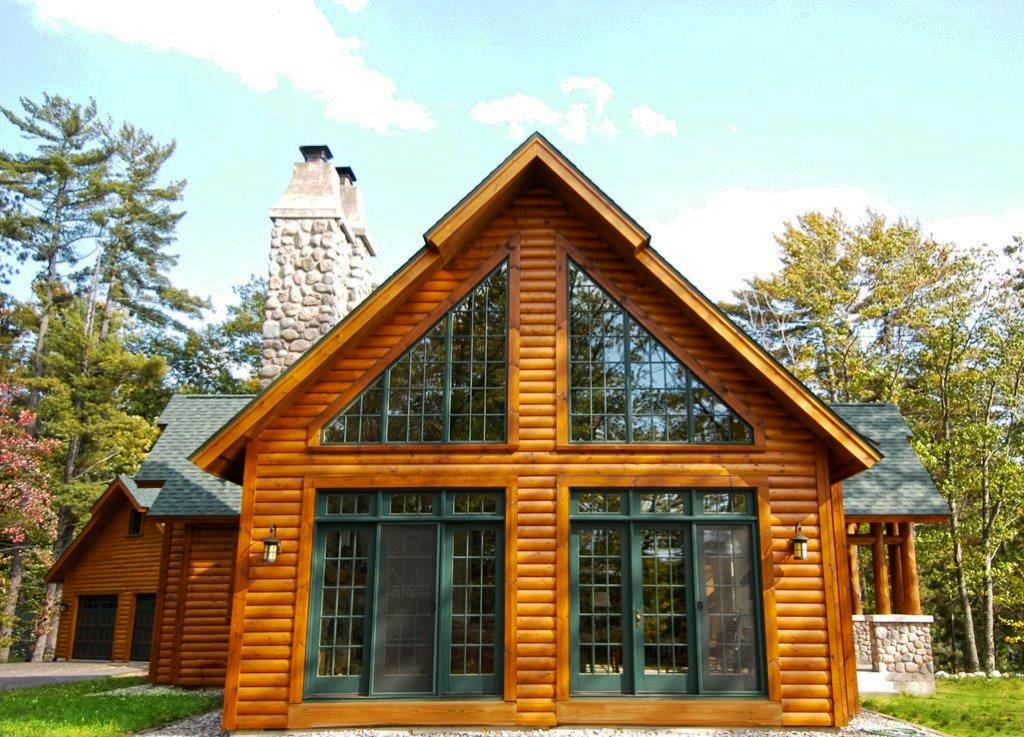 Modular home builder dickinson homes builds an for Modular chalet homes