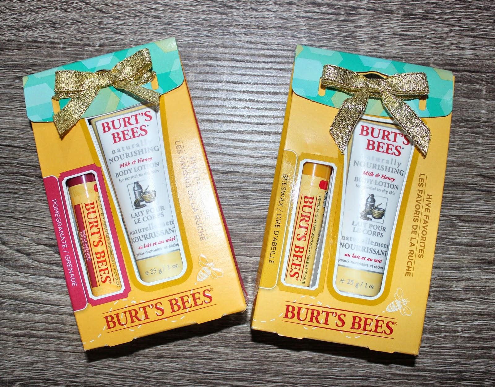 Burt's Bees Hive Favourites
