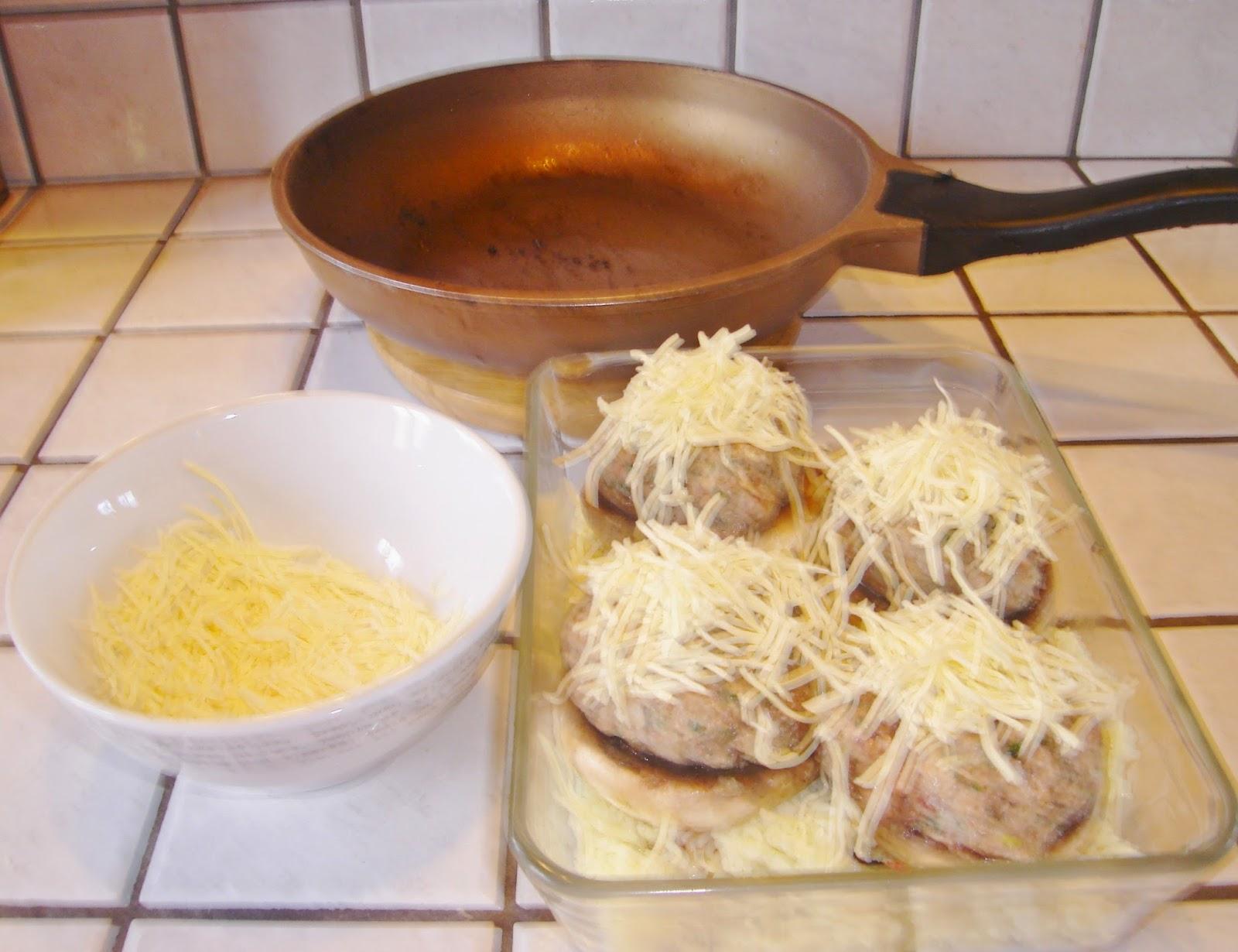 Champignons farcis aux ch taignes ma cuisine sympa for Abonnement cuisine sympa