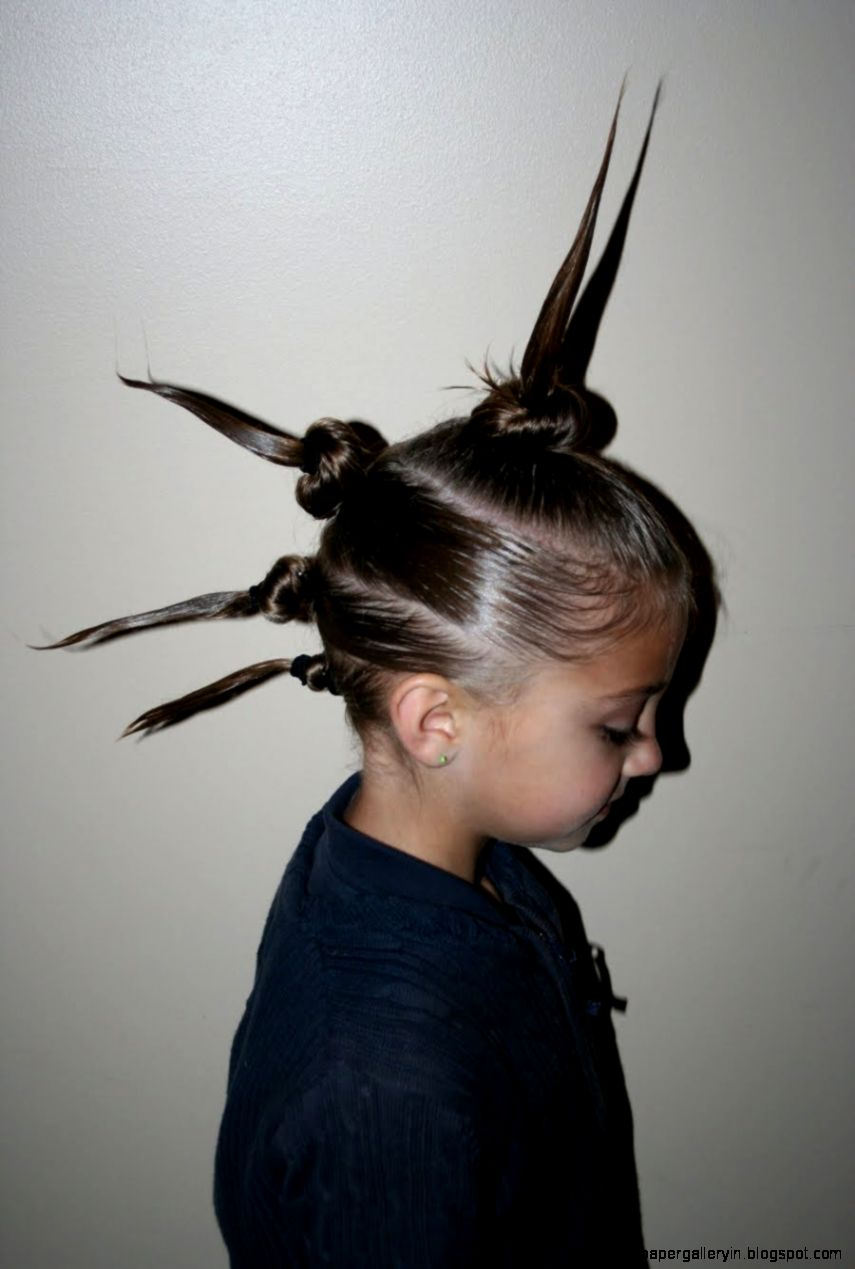 crazy hairstyle kids girl | wallpaper gallery