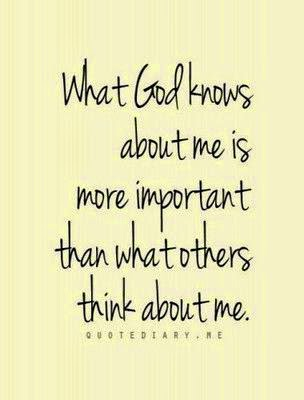 God knows us by name