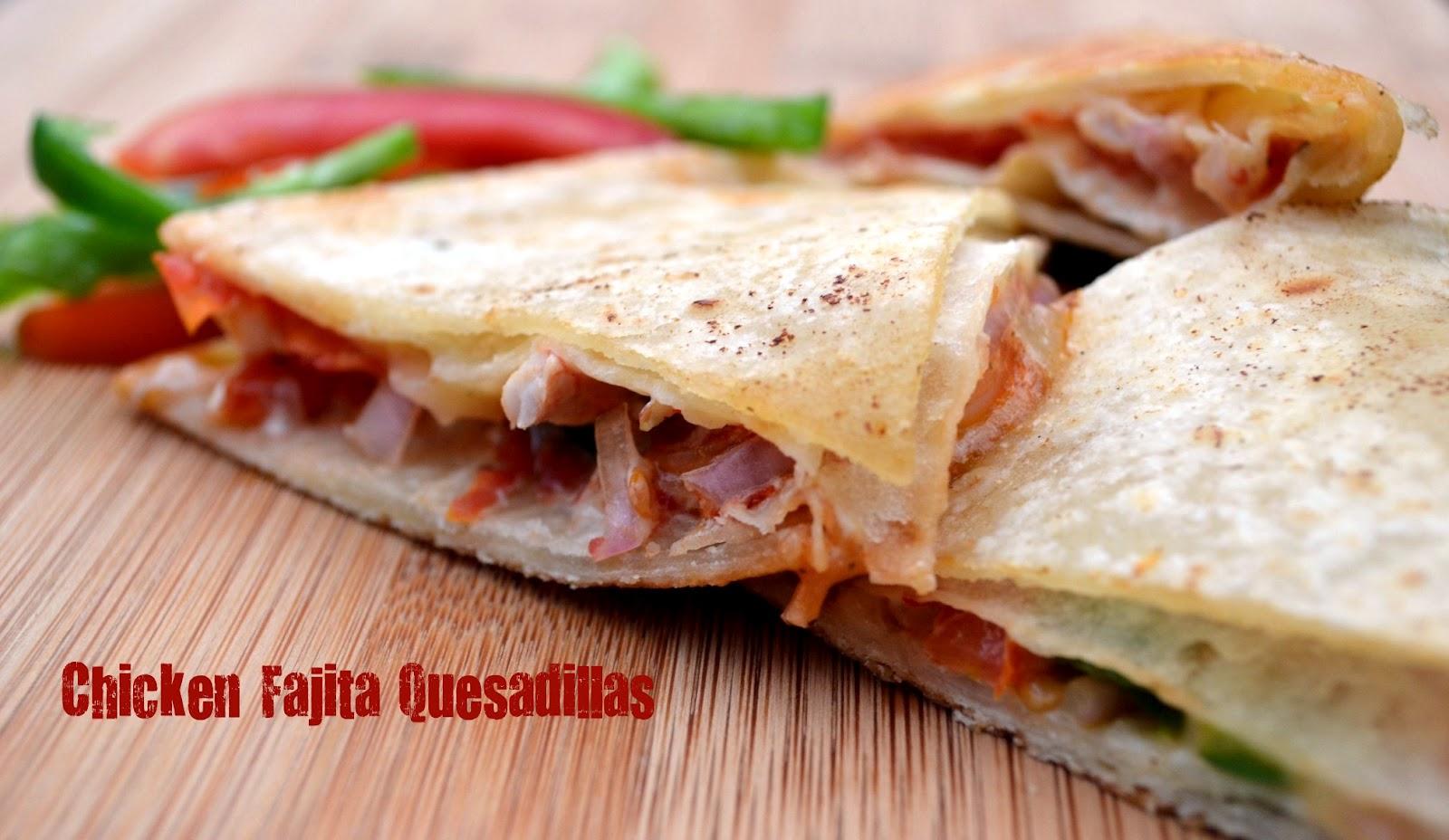 The Recipe Code: Chicken Fajita Quesadillas