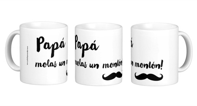tazas personalizadas para papa