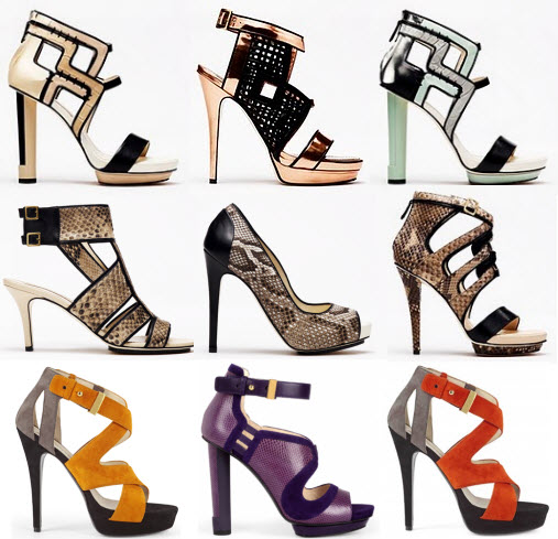 Эскизы обуви
