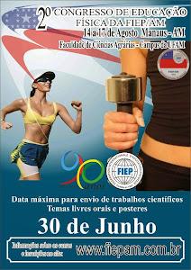2º CONGRESSO DE EDUCAÇÃO FÍSICA DA FIEP/AM.