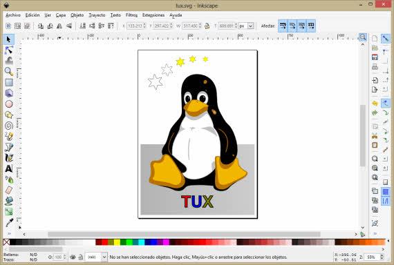 Diseño vectorial con la aplicación gratuita Inkscape