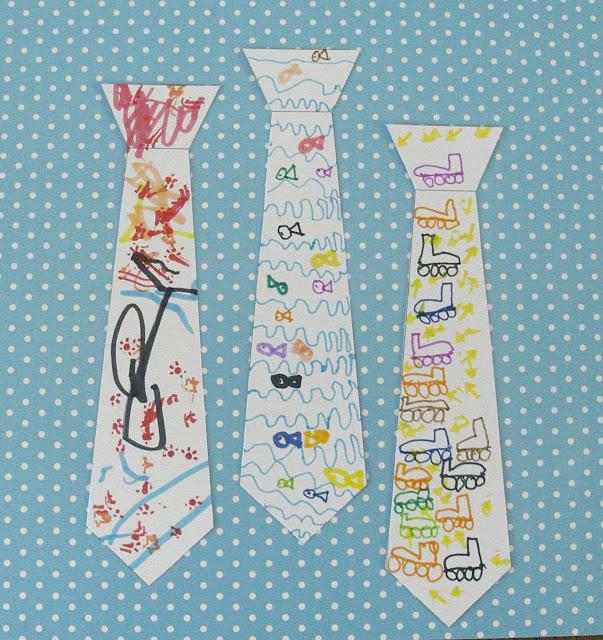 DIY du mercredi : marque-page cravate à décorer pour la fête des ...