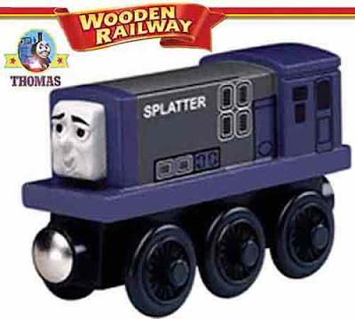 Model Day of the Diesels Thomas and friends toy wooden railway Splatter the diesel train BR Class 08