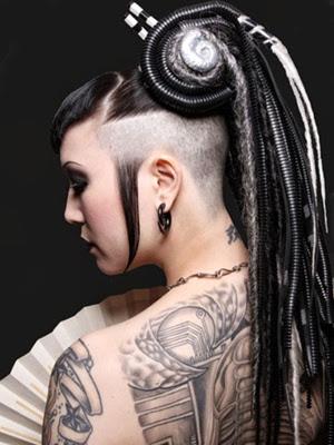 peinados 2014 raros locos