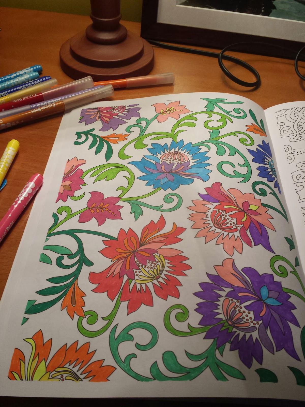 AntiStress Jardins  100 Imagens para Colorir  Ana Bjezancevic