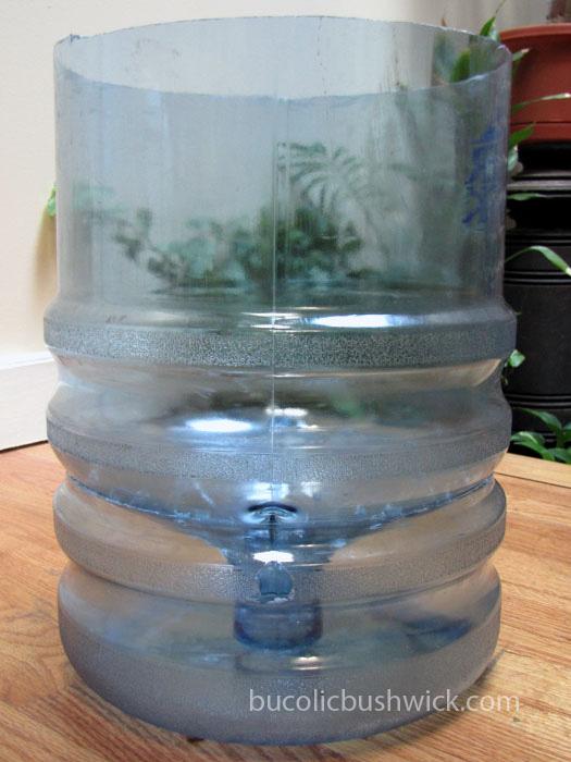 Bucolic bushwick diy self watering container water for Fish tank water cooler
