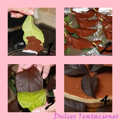 Dulces tentaciones decoraci n con chocolate - Decoracion con chocolate ...