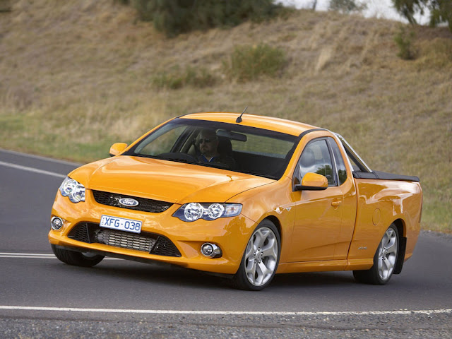 Cars Ford FG Falcon XR6 Turbo Ute (2008) Photo Gallery Wallpapers