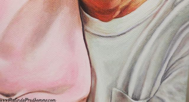 a love filled project, oil painting, portrait artist, portrait painting, elderly portrait, elderly couple, custom portraits, custom artwork
