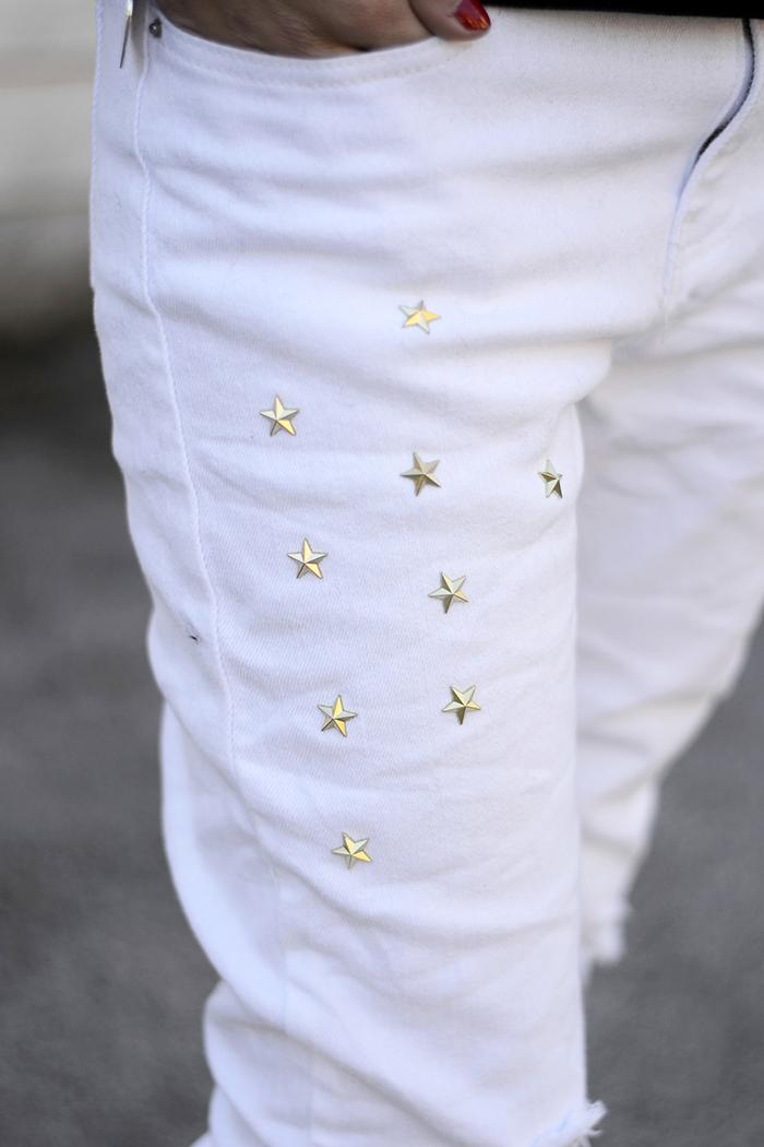 applicazioni stelline jeans
