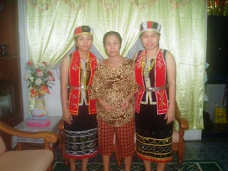 Traditional Bidayuh Costume