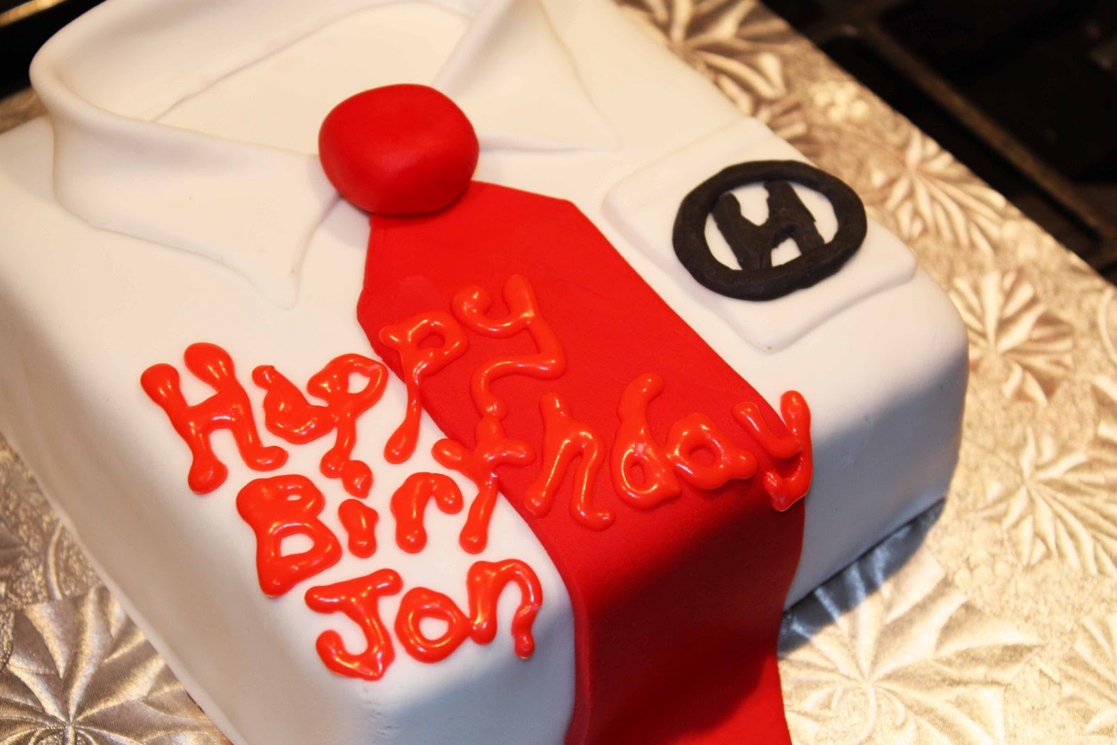 Cup O Cake: Suit and Tie Birthday Cake