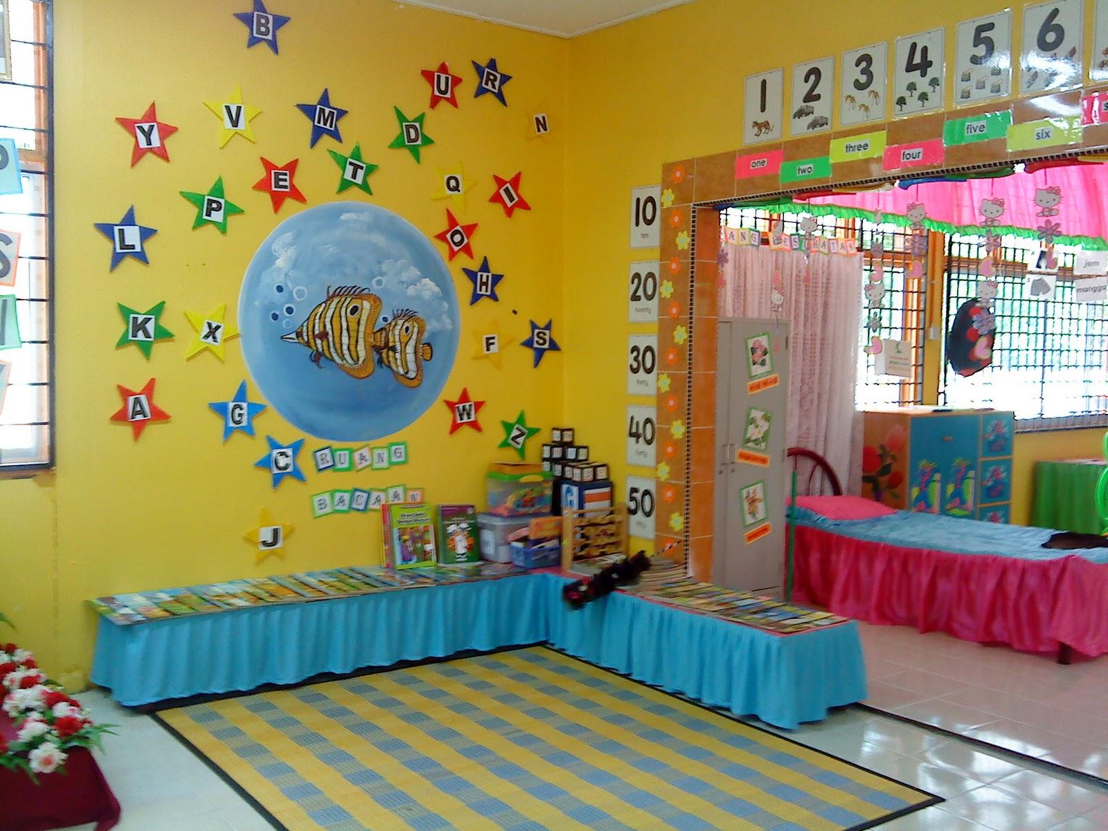 Noor diyana bt ismail d040625 kelas prasekolah cemerlang for Mural untuk kanak kanak
