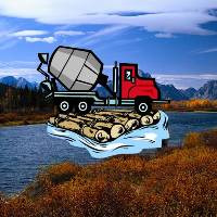 Dream Of Rushing Water And Cement Truck