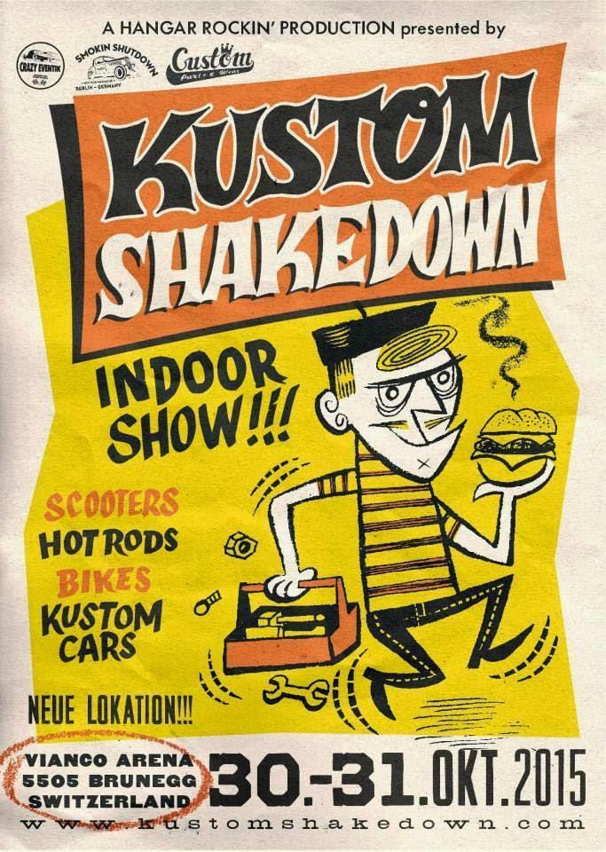 Kustom Shakedown 2015