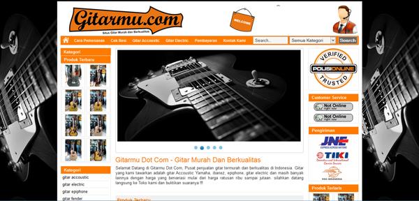 Gitarmu.com Toko Online Gitar Murah Terpercaya