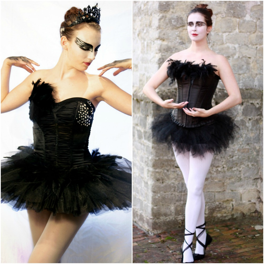 black swan ballerina halloween outfit ideas fancy dress costumes 2014 fashion blog