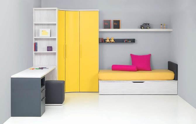 creative simple junior room idea