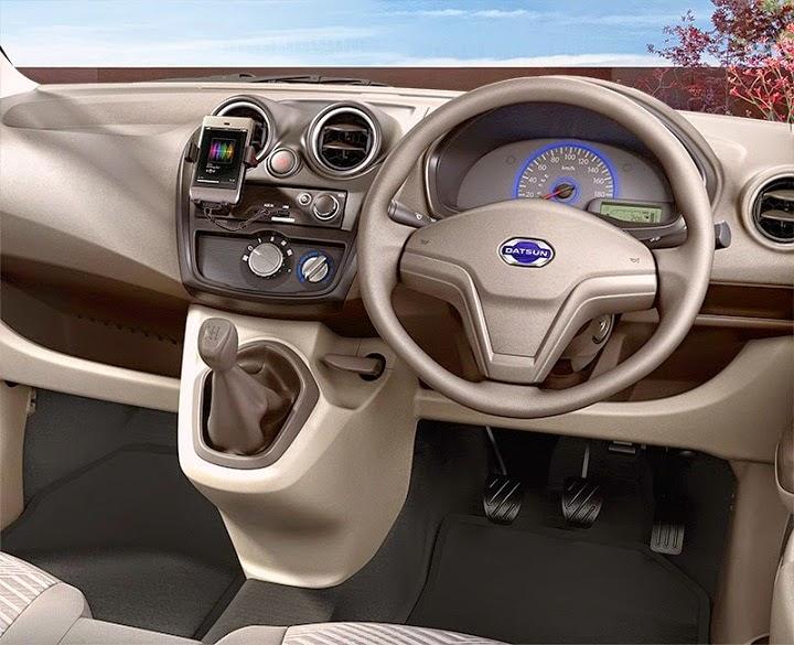 Interior Datsun Go+ Panca - Interior