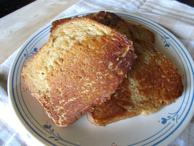 how to make french toast without butter