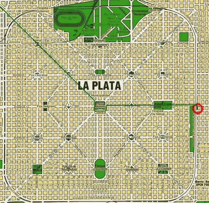 Ciudad de La Plata ARGENTINA