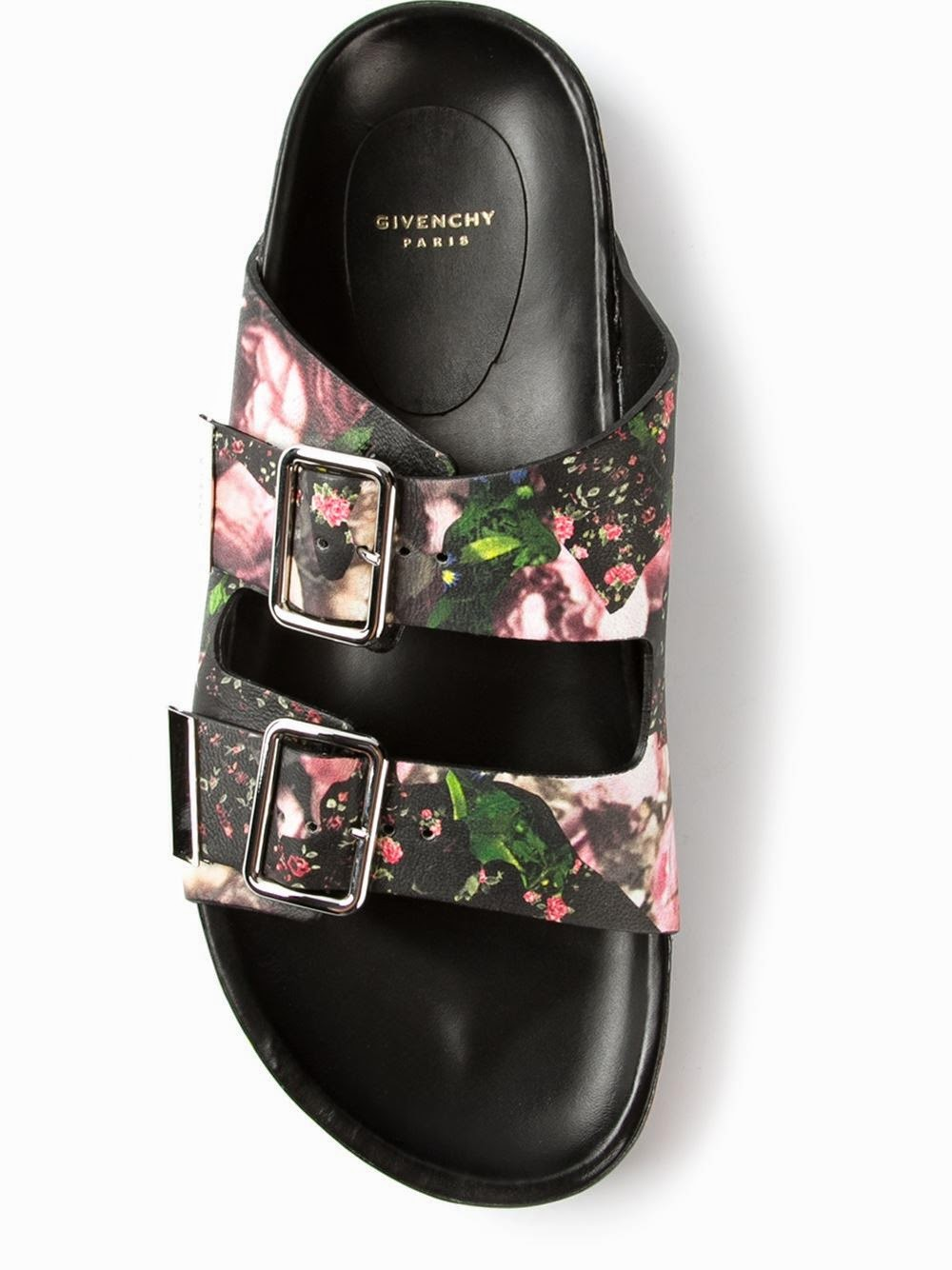 Black Nappa leather sandal from Givenchy