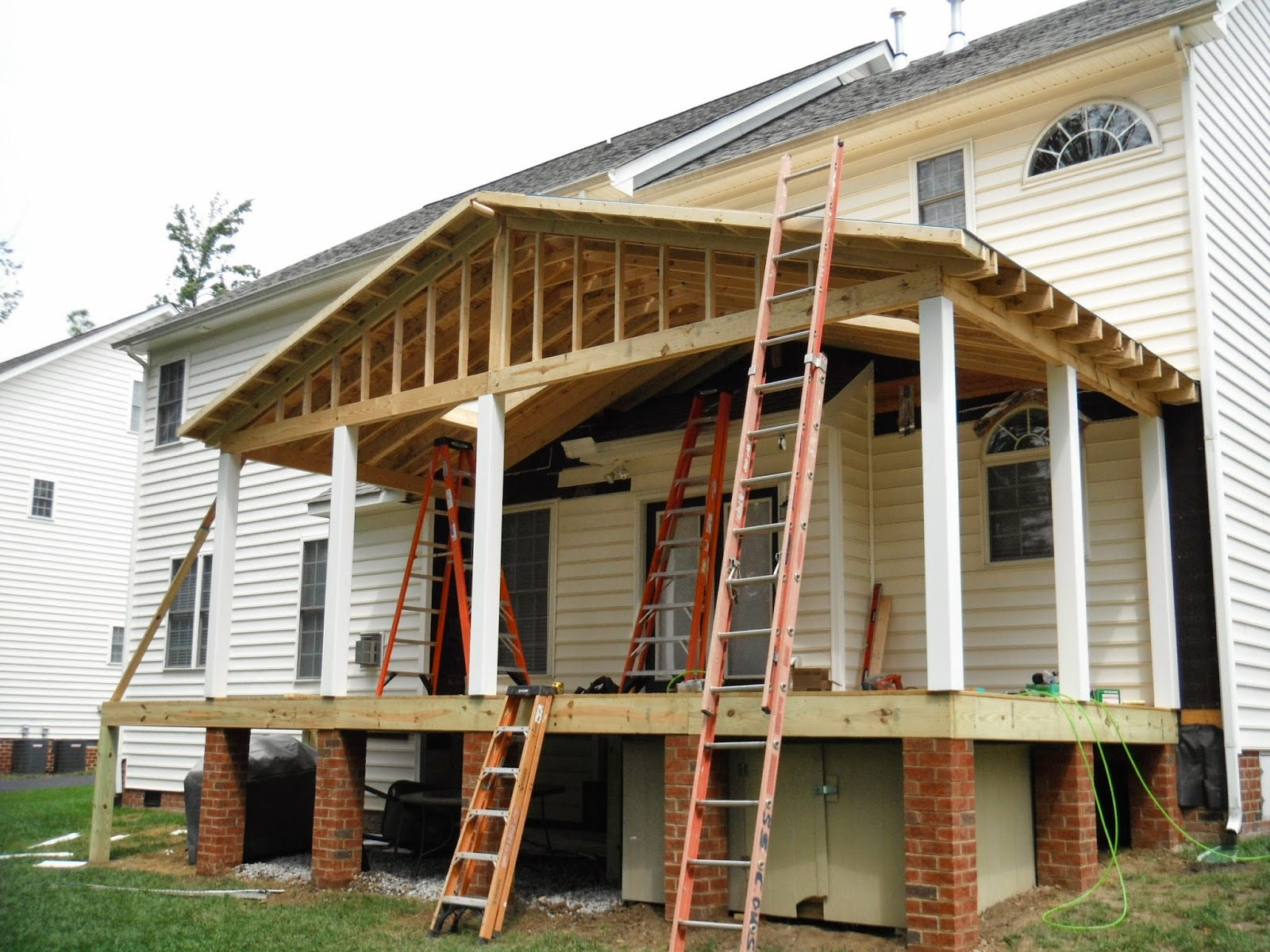 October 2014 instant knowledge for Porch roof plans