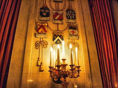Palacio Real de Amsterdam (Koninklijk Paleis) - Cámara del Consejo Municipal