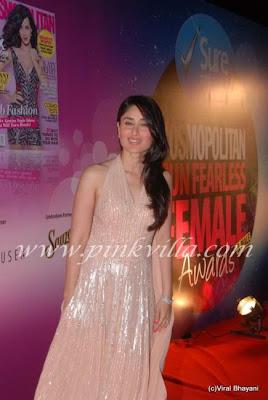 Kareena Kapoor at Cosmopiltan Awards 3