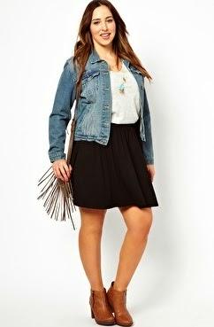 falda verano para gorditas 2014