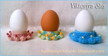 подставка под пасхальное яйцо своими руками