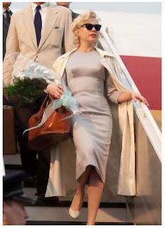 my week with marilyn, my week with marilyn wardrobe, Michelle Williams as Marilyn Monroe