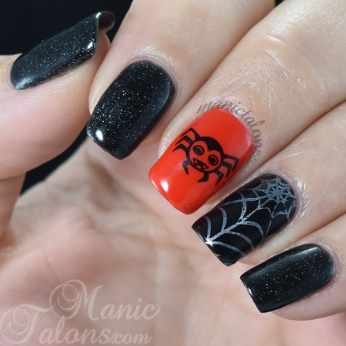 Halloween Nails with Bundle Monster Occasions Stamping