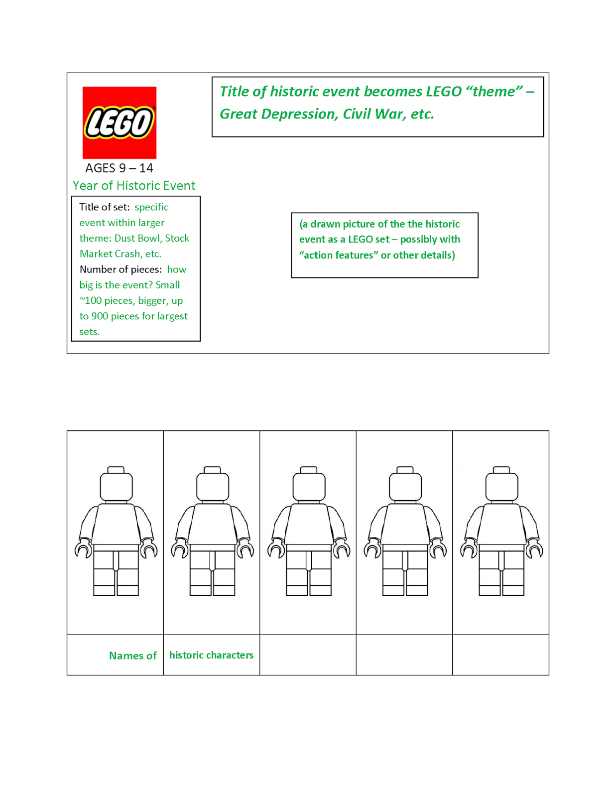 Quinn Rollins: Play Like a Pirate: LEGO Templates
