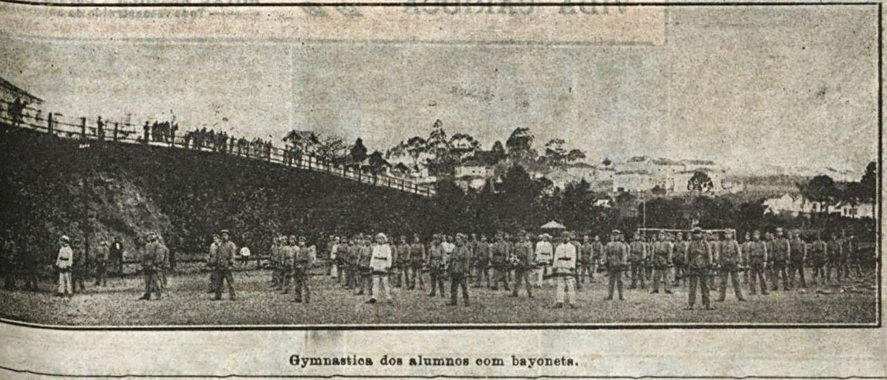 COLÉGIO MILITAR BARBACENA 1920