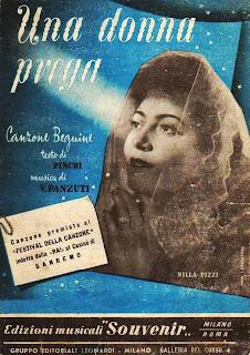 Sanremo 1952 - Nilla Pizzi - Una donna prega